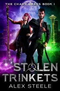 Stolen Trinkets urban fantasy novel
