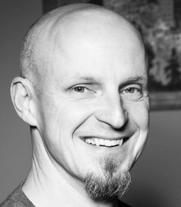 urban fantasy author Paul Sating headshot