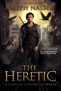 The Heretic an urban fantasy novel by Joseph Nassise
