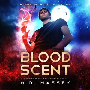 Blood Scent urban fantasy audiobook cover