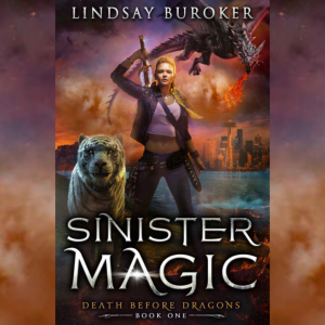 Sinister Magic urban fantasy book